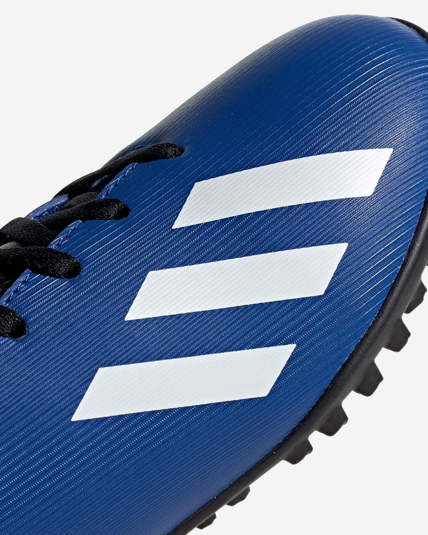 Scarpe calcio ADIDAS X 19.4 TF JR S5150621 scatto 5