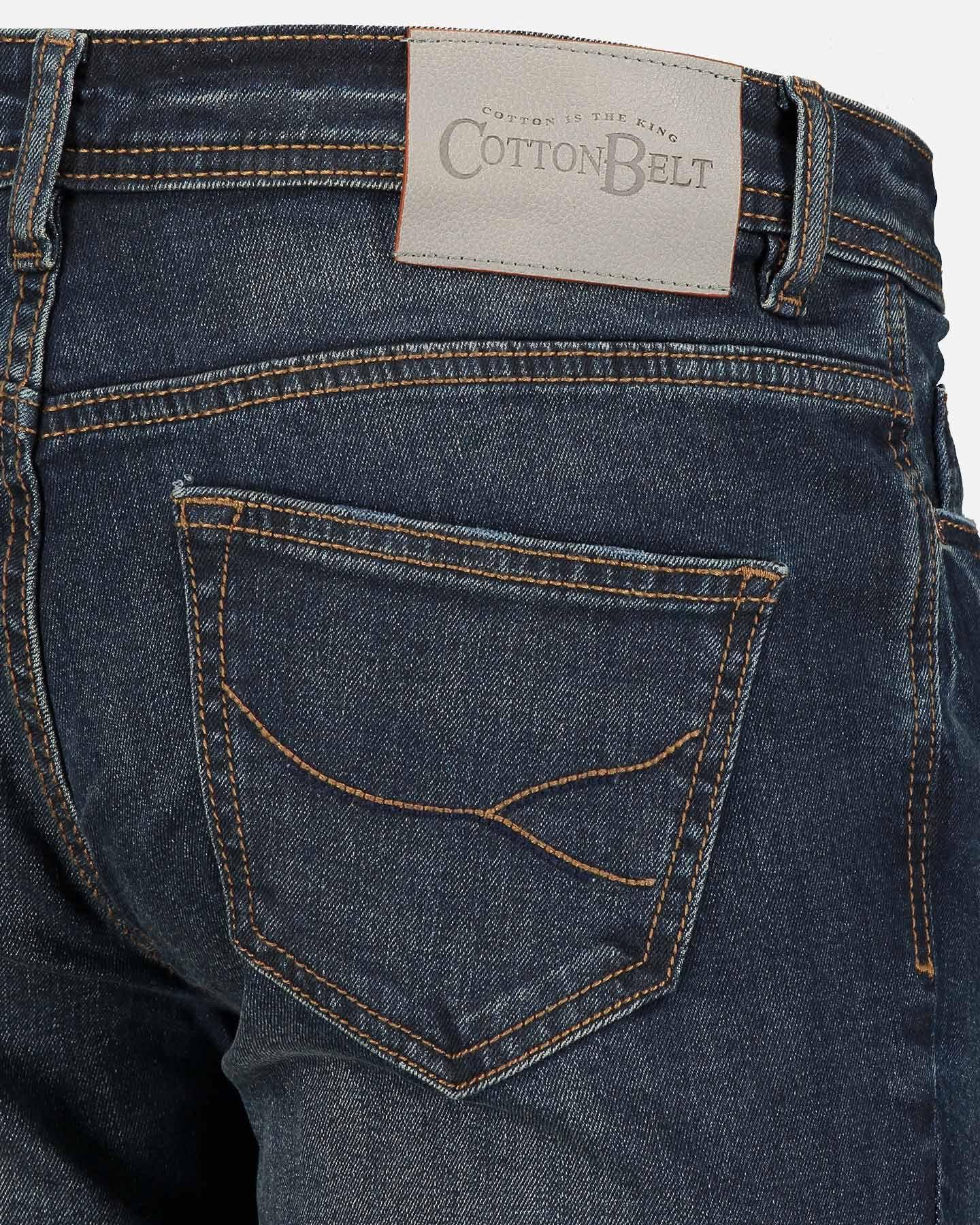 Jeans COTTON BELT GREGOR SLIM M S4070912 scatto 4