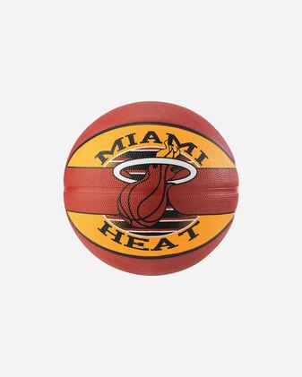 Pallone basket SPALDING NBA TEAM BALL MIAMI HEAT MIS.7