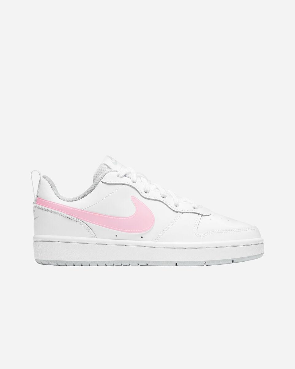 Scarpe sneakers NIKE COURT BOROUGH LOW 2 GS JR S5268507 scatto 0