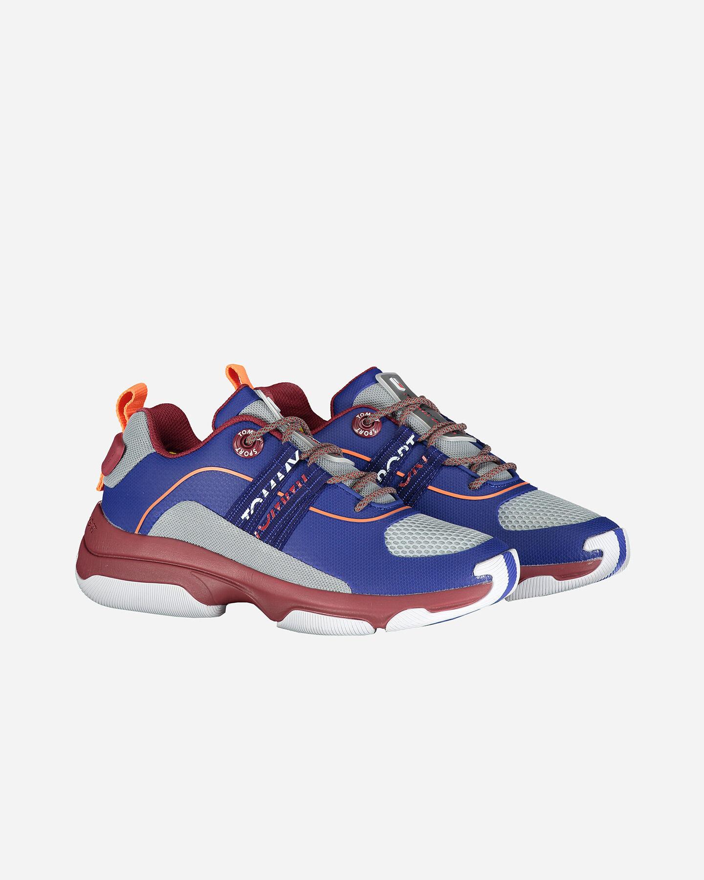 Scarpe sneakers TOMMY HILFIGER CITY CBK M S4071983 scatto 1