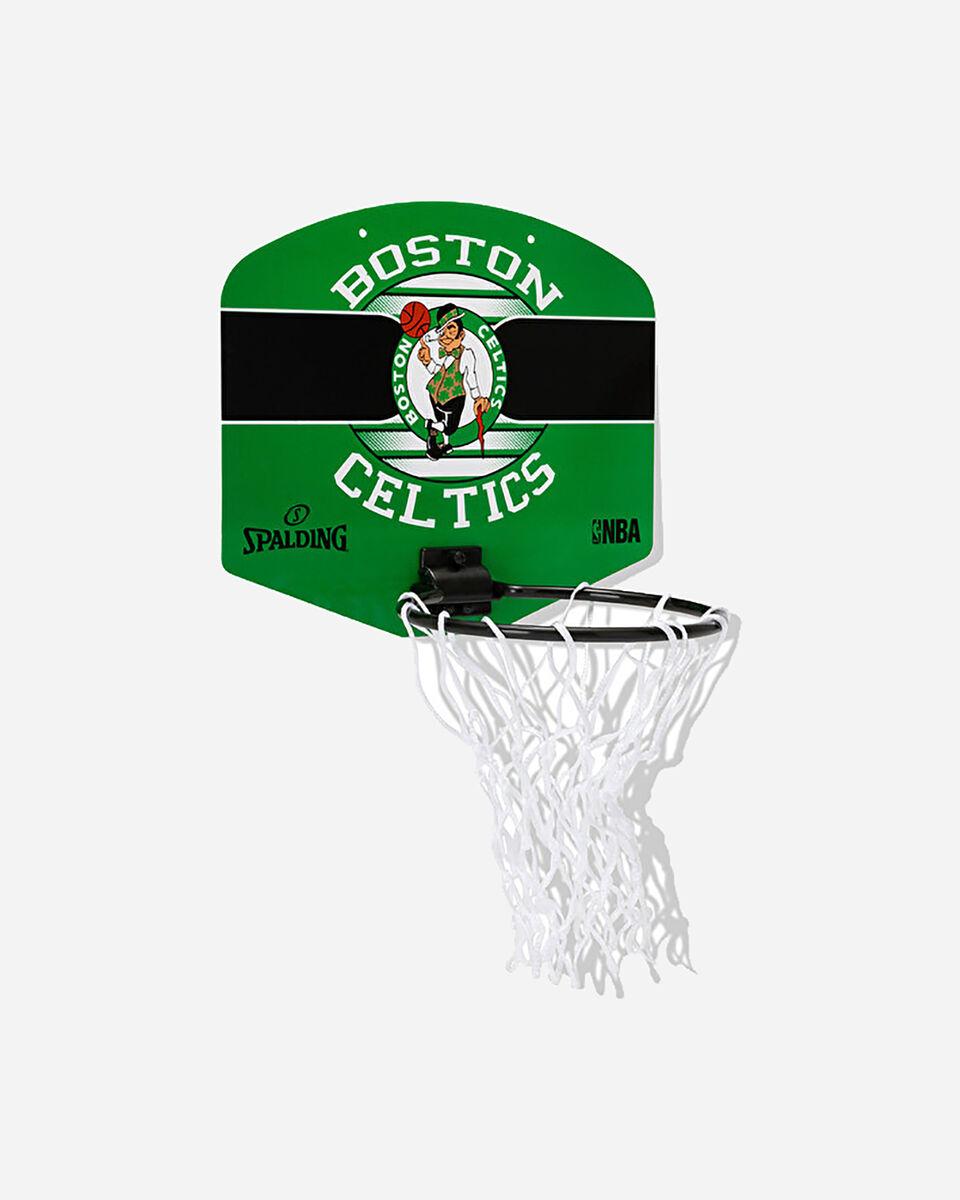 Canestro tabellone basket SPALDING BOSTON CELTICS JR S5238184|UNI|UNI scatto 1