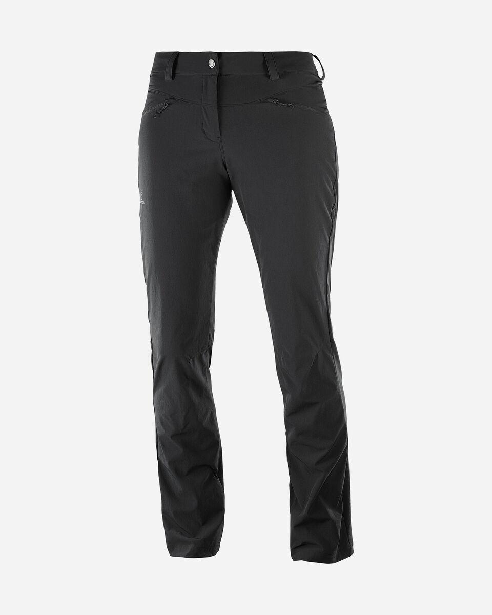 Pantalone outdoor SALOMON WAYFARER STRAIGHT  W S5047681 scatto 0