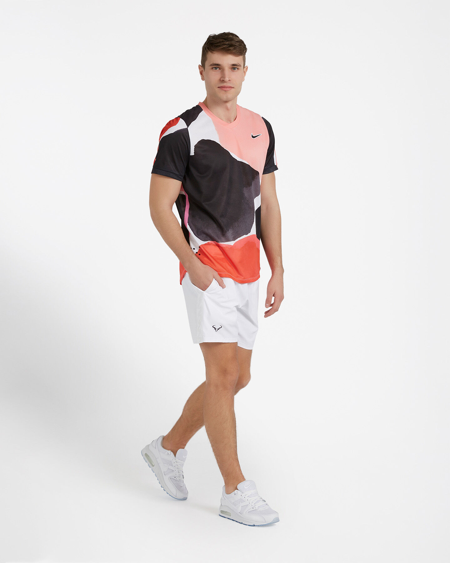 T-Shirt tennis NIKE COURT CHALLENGER M S5162982 scatto 3