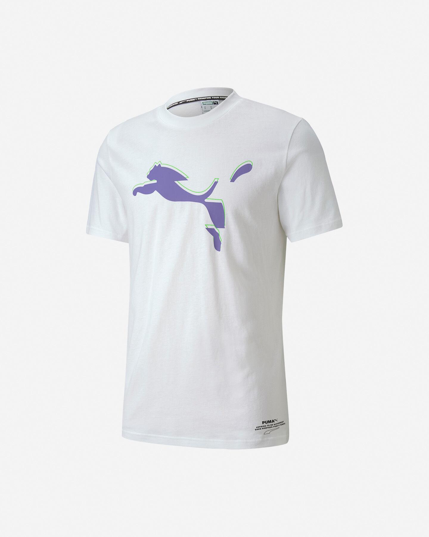 T-Shirt PUMA AVENIR GRAPHIC LOGO M S5235572 scatto 0