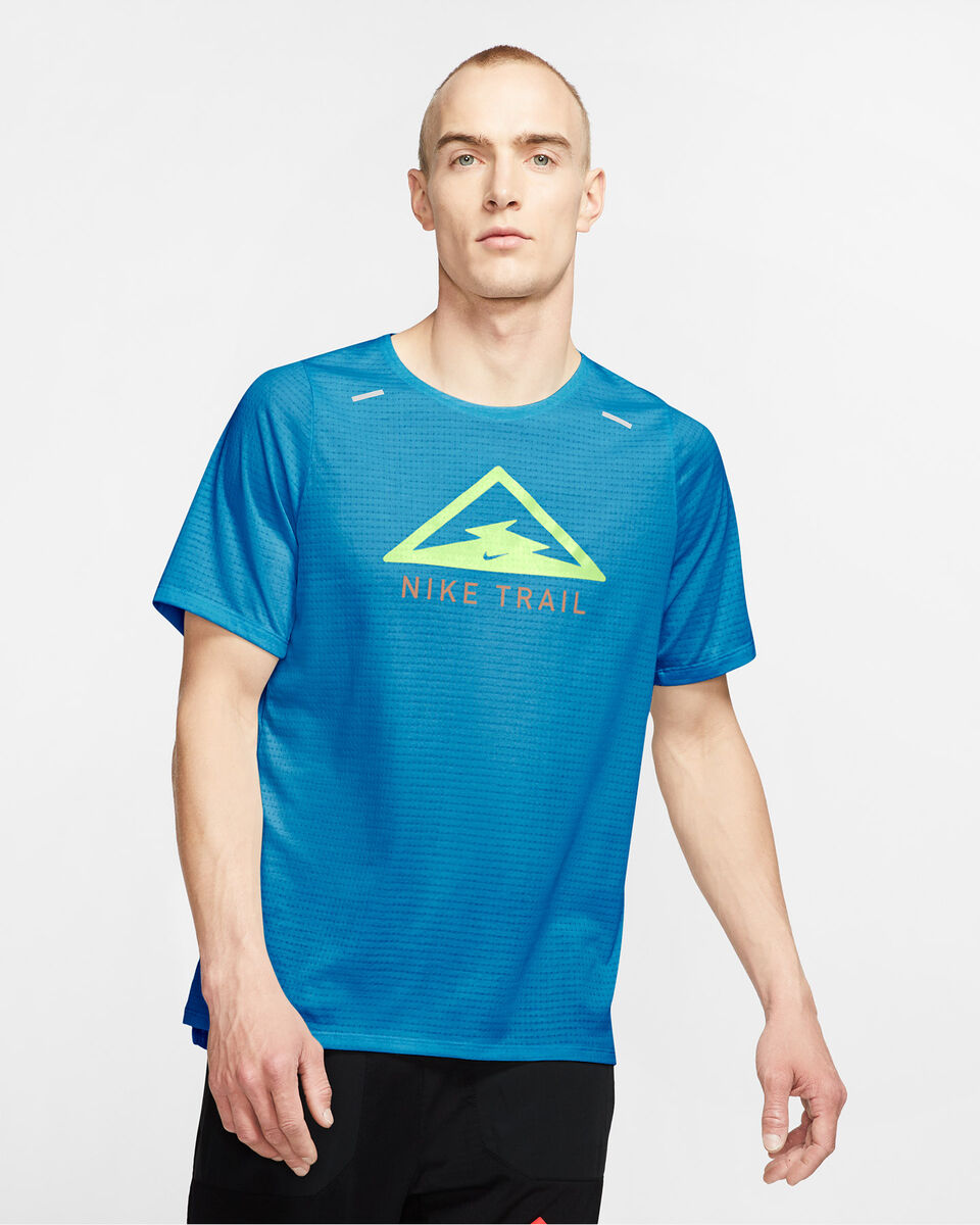 T-Shirt running NIKE RISE 365 TRAIL M S5225209 scatto 2