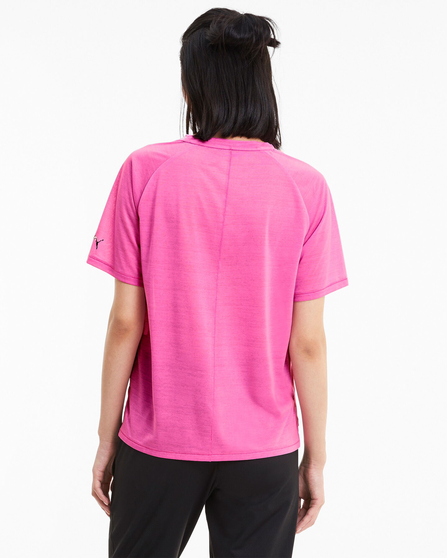 T-Shirt training PUMA DRIFIT LOGO W S5234838 scatto 3