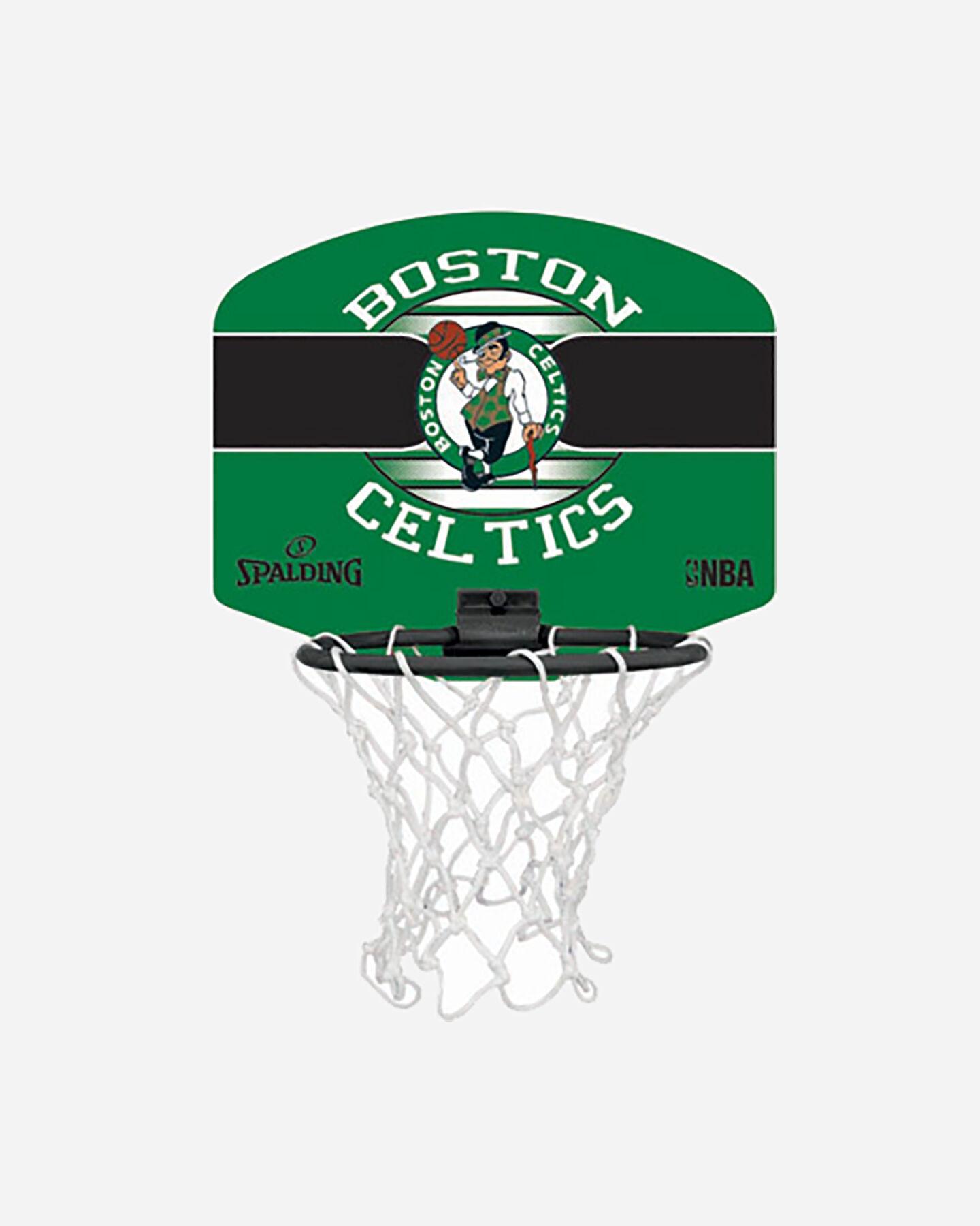 Canestro tabellone basket SPALDING BOSTON CELTICS JR S5238184|UNI|UNI scatto 0
