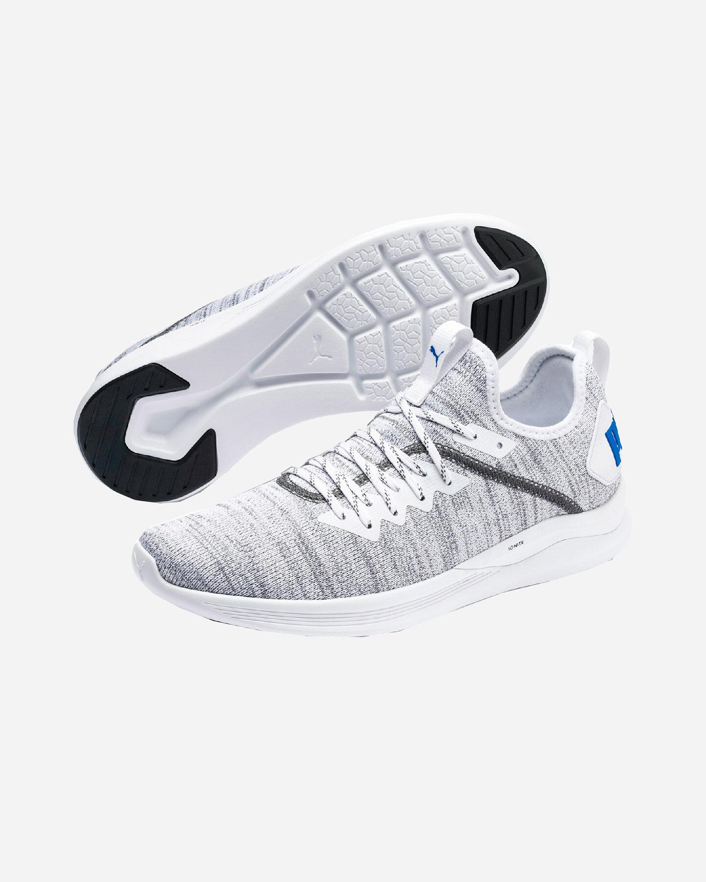 Scarpe sneakers PUMA IGNITE FLASH EVOKNIT M S5181432 scatto 1
