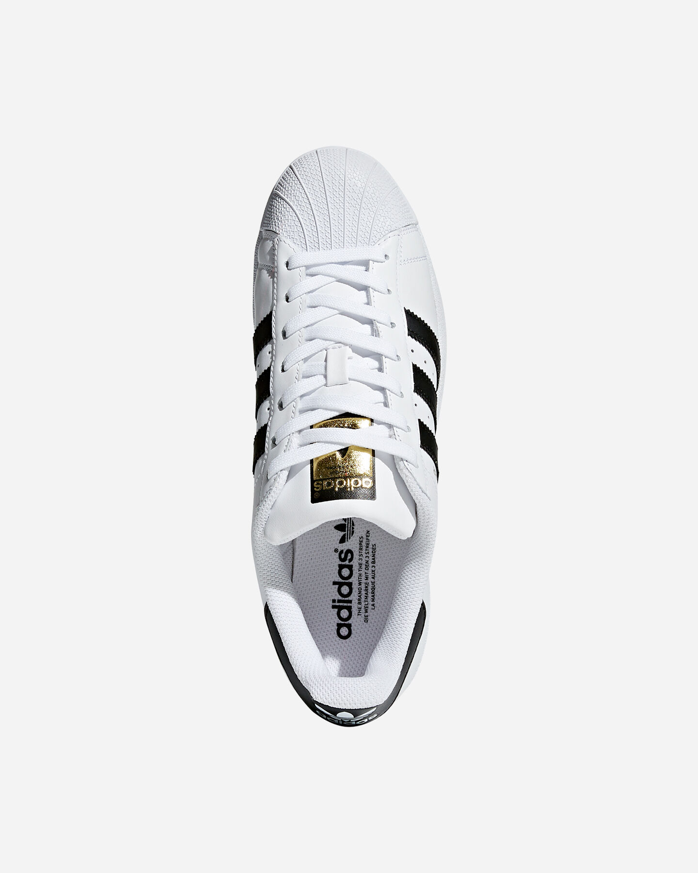 Scarpe sneakers ADIDAS SUPERSTAR S1291555 scatto 2