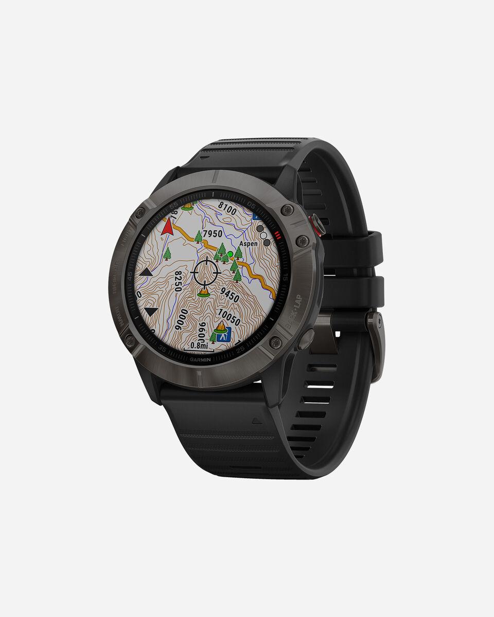Orologio multifunzione GARMIN FENIX 6X SAPPHIRE S4076558 11 UNI scatto 2