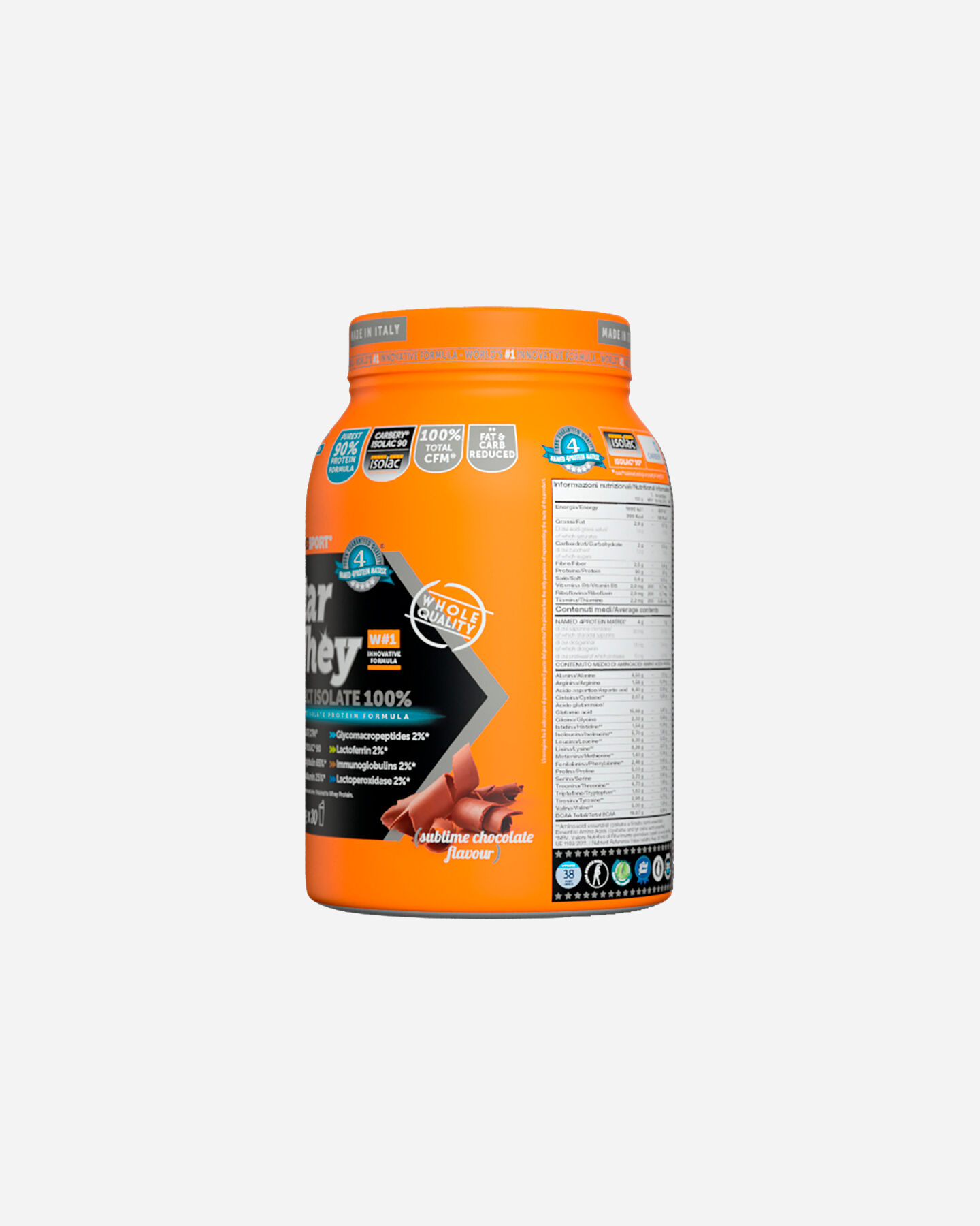 Energetico NAMED SPORT STAR WHEY ISOLATE SUBLIME CHOCOLATE 750G S1308868|1|UNI scatto 4