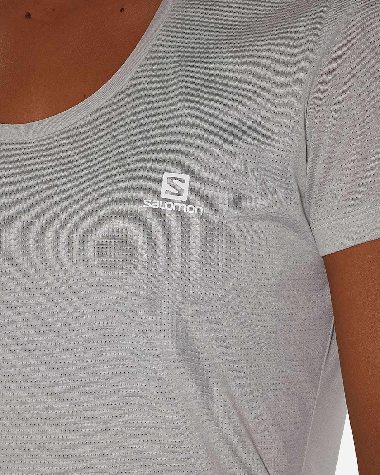 T-Shirt SALOMON AGILE W S5173859 scatto 5