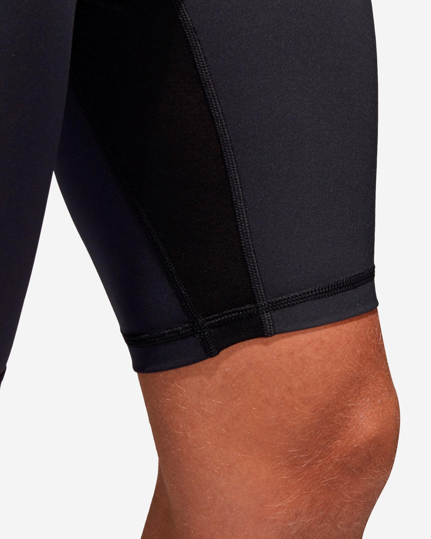 Pantaloncini intimo tecnico ADIDAS ALPHASKIN SPRT TIGHT SHORT TIGHT M S4033462 scatto 5