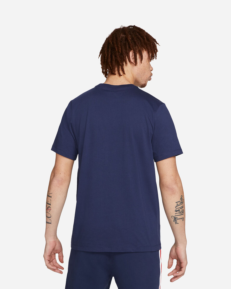 T-Shirt NIKE JORDAN PSG LOGO M S5301878 scatto 1