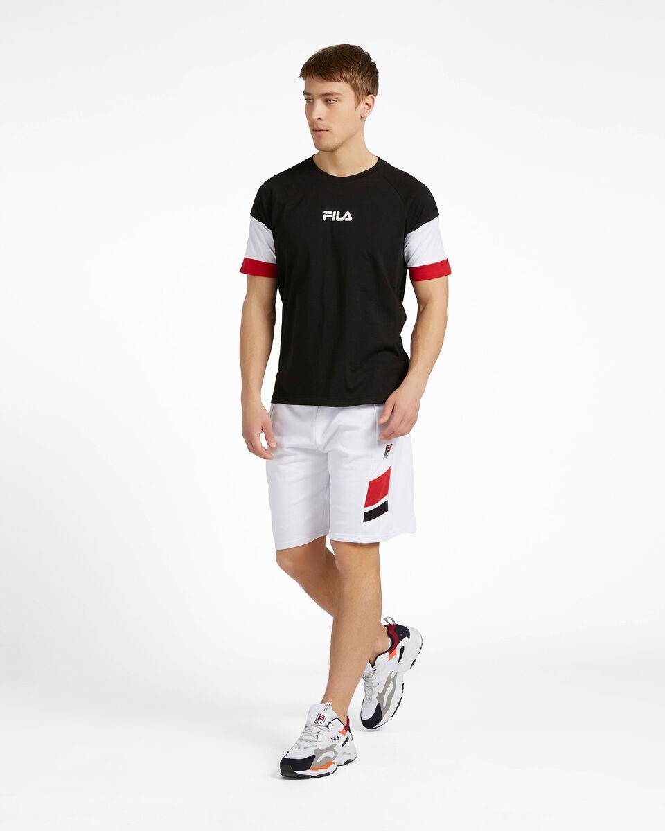 T-Shirt FILA NEW COLOR BLOCK M S4088467 scatto 3