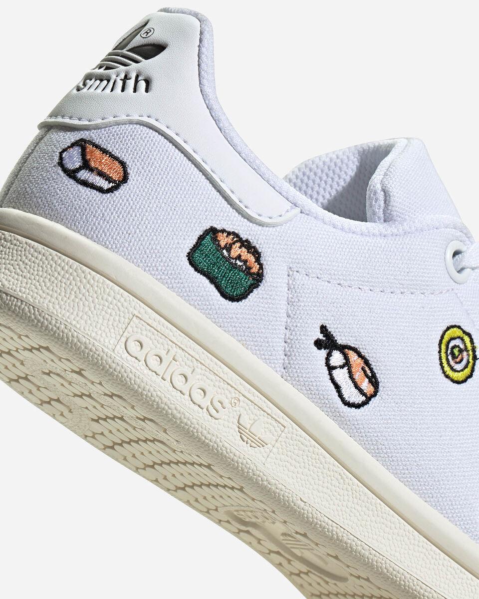 Scarpe sneakers ADIDAS STAN SMITH JR S5151501 scatto 4