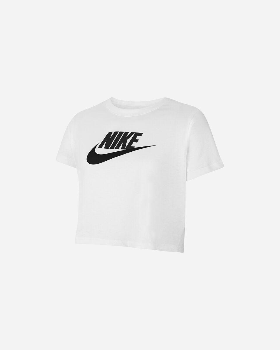 T-Shirt NIKE CROP FUTURA  JR S5270096 scatto 0