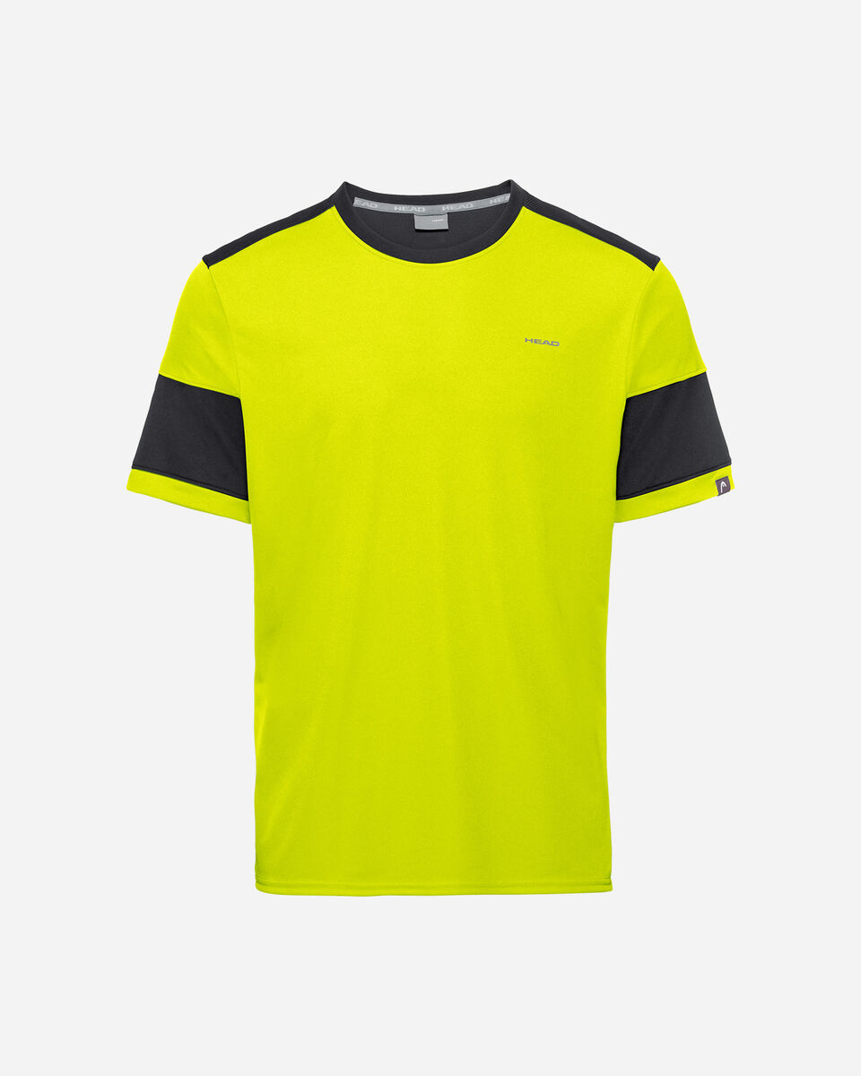 T-Shirt tennis HEAD VOLLEY M S5251663 scatto 0