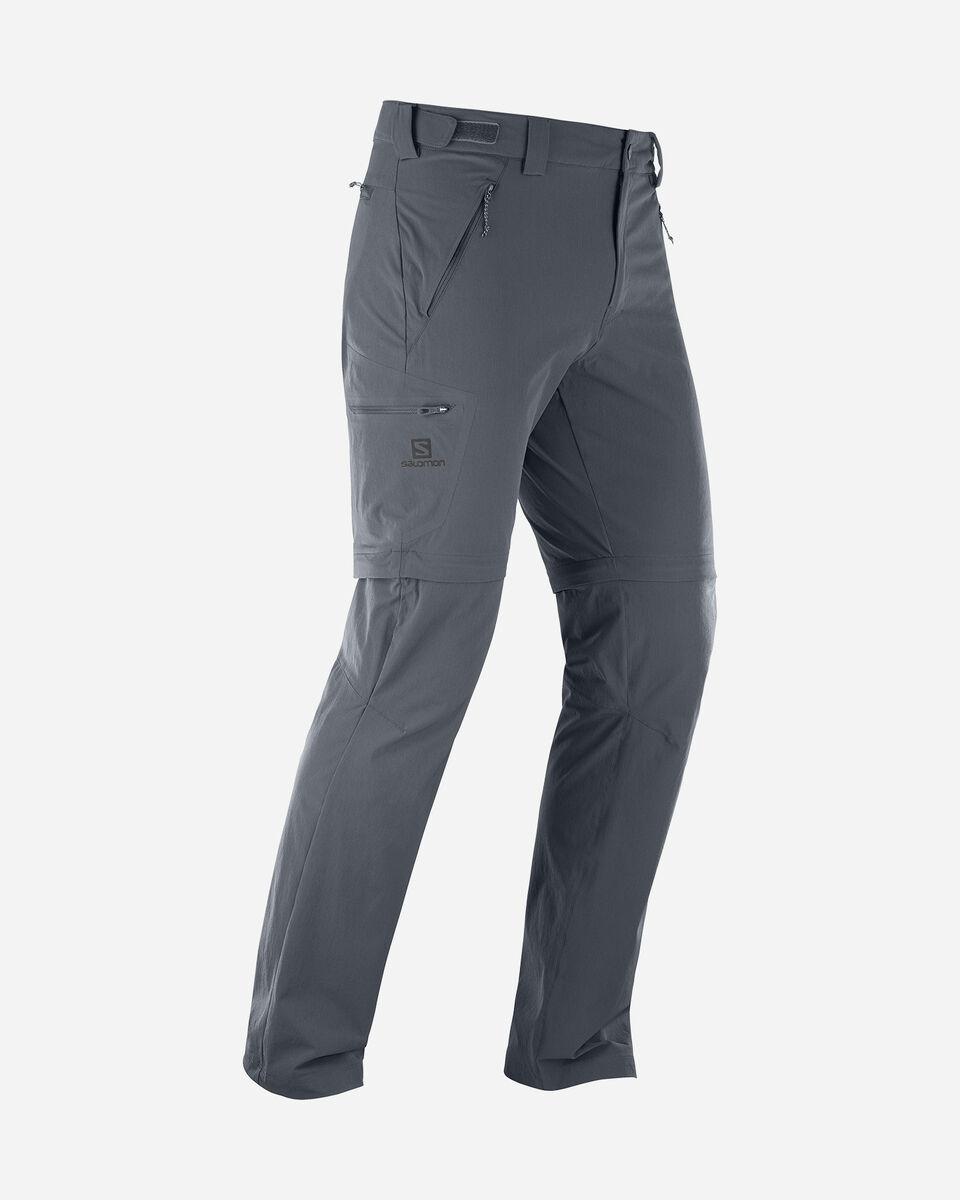 Pantalone outdoor SALOMON WAYFARER ZIP M S5173951 scatto 1