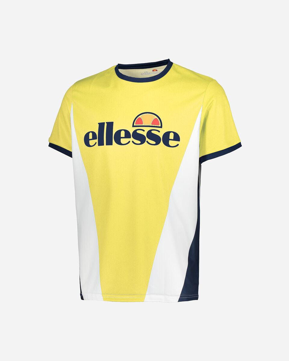 T-Shirt tennis ELLESSE TENNIS BIG LOGO M S4075614 scatto 0