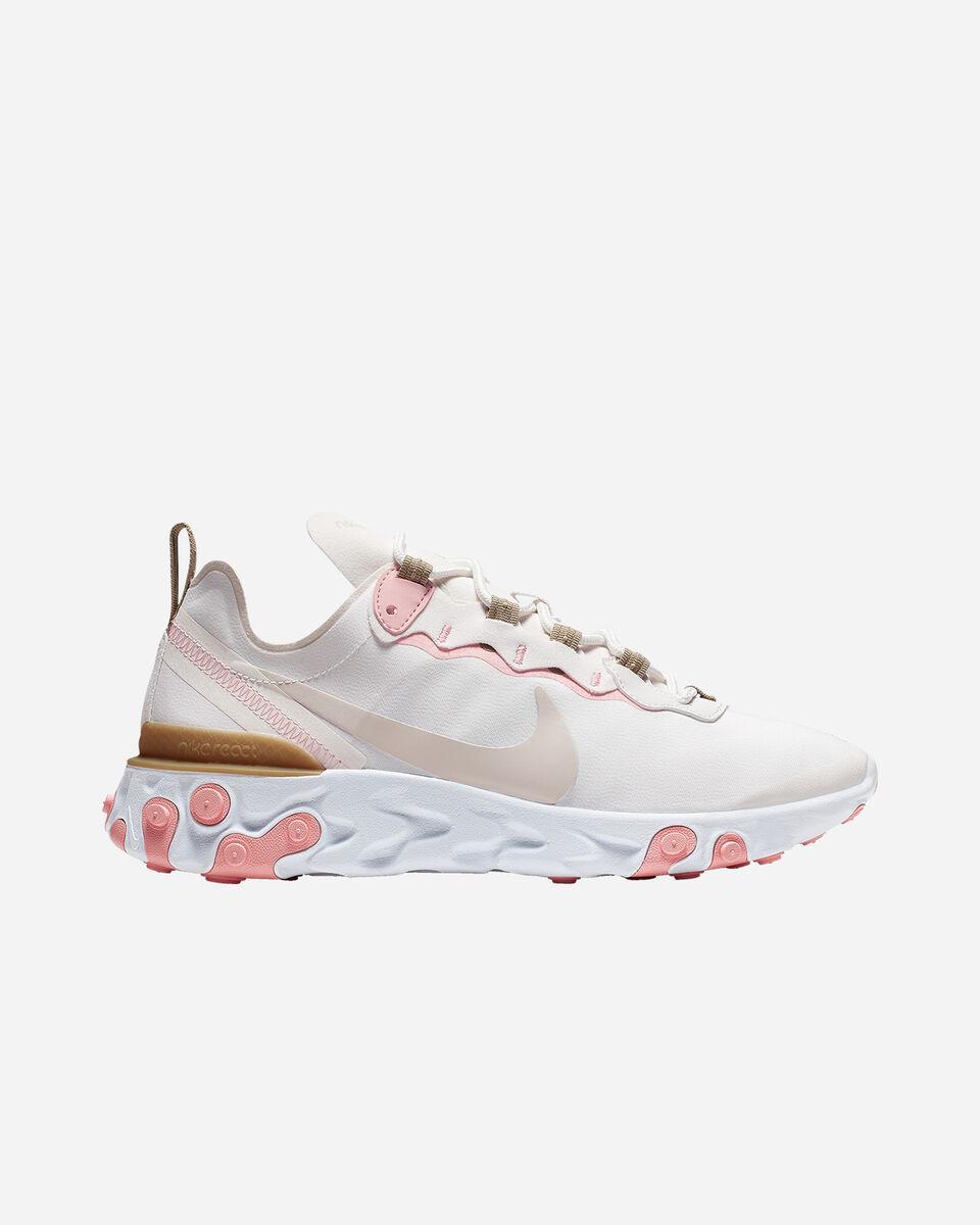 Scarpe sneakers NIKE REACT ELEMENT 55 W S5197490 scatto 0