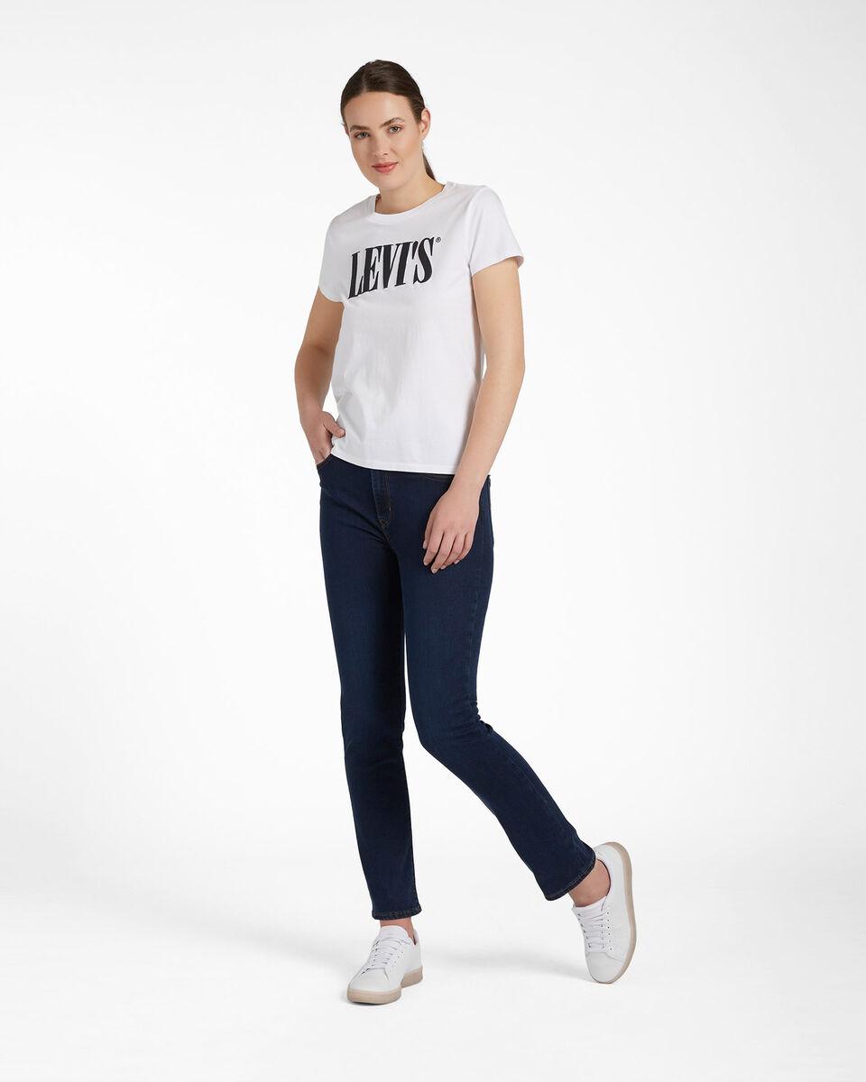 T-Shirt LEVI'S LOGO SERIF W S4088765 scatto 1