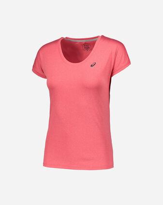 T-Shirt running ASICS CAPSLEEVE TOP W