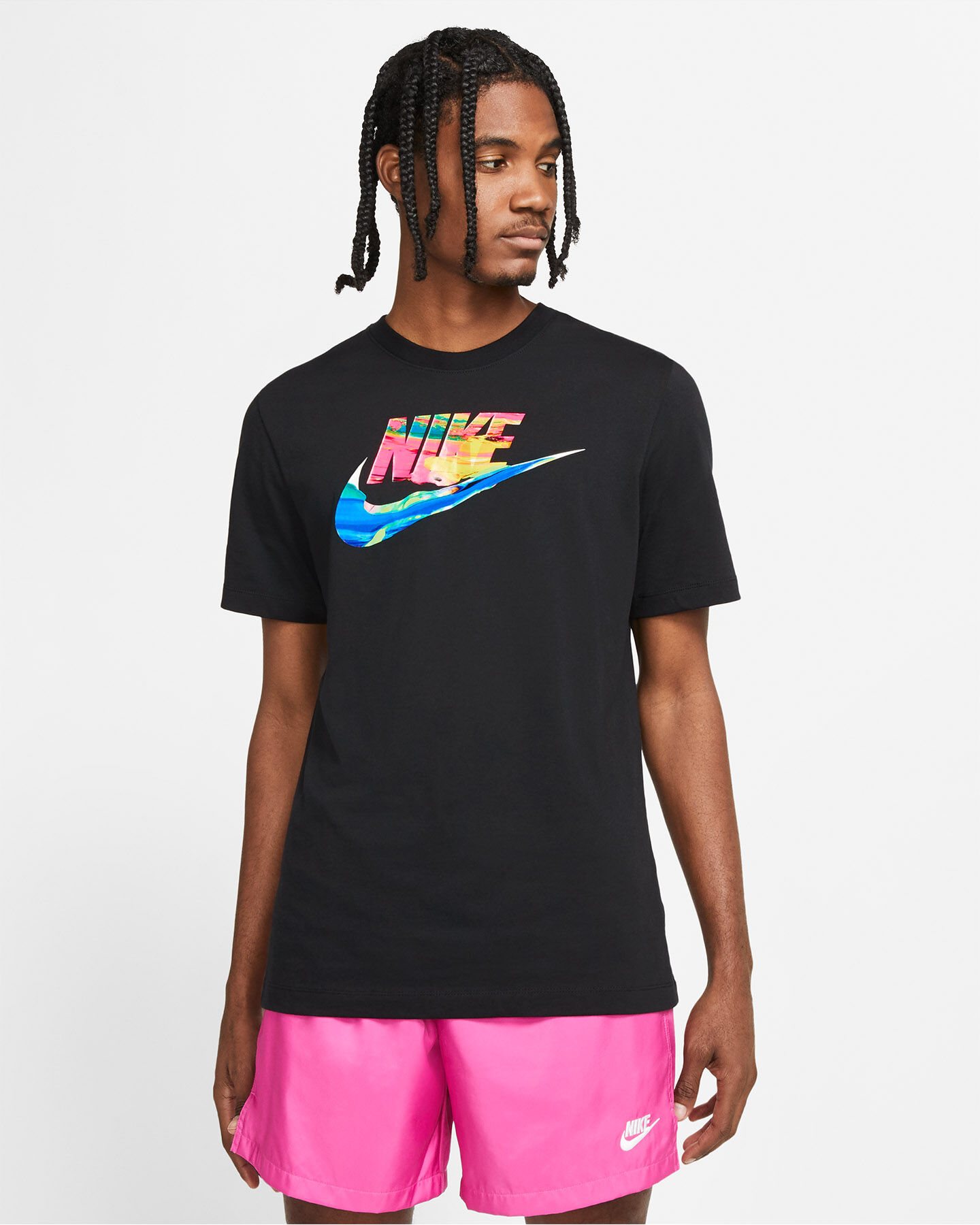 T-Shirt NIKE SPRING BREAK SWOOSH M S5270118 scatto 0