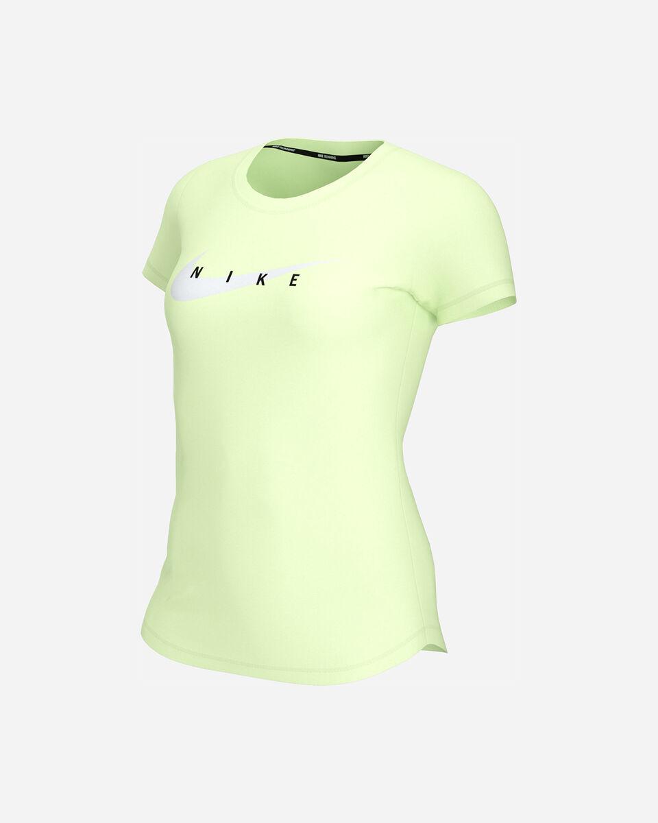 T-Shirt running NIKE SWOOSH RUN W S5299255 scatto 0