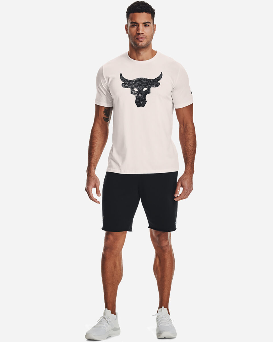 T-Shirt UNDER ARMOUR THE ROCK BULL LOGO M S5300568 scatto 3