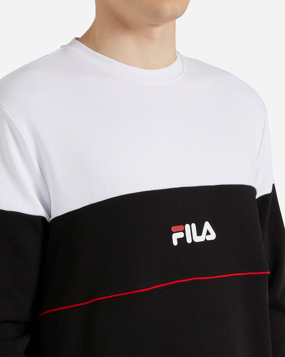Felpa FILA BICOLOR SMALL LOGO M S4088412 scatto 4