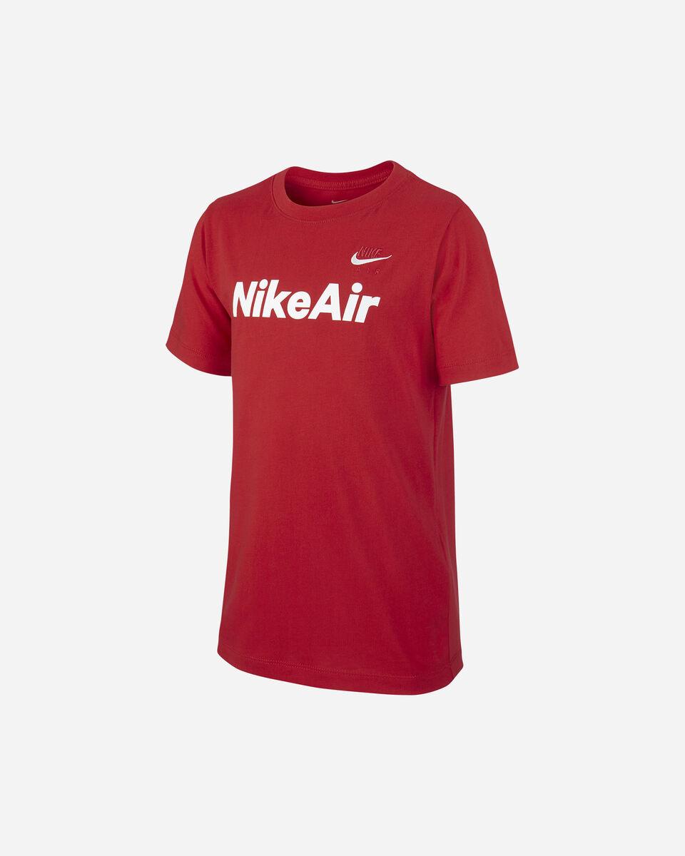 T-Shirt NIKE AIR LOG JR S5165230 scatto 0