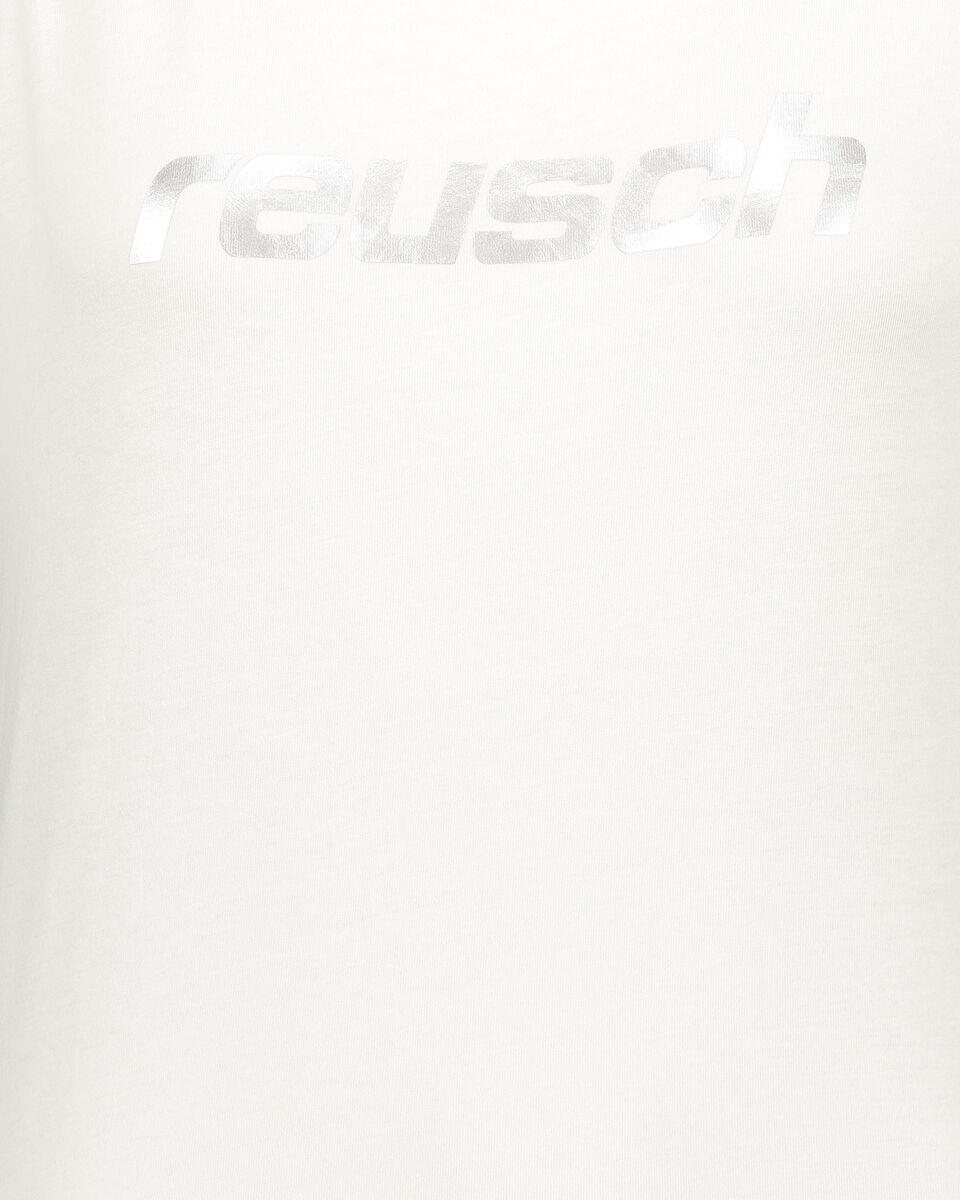 T-Shirt REUSCH LOGO MARSHMALLOWS W S4077261 scatto 2