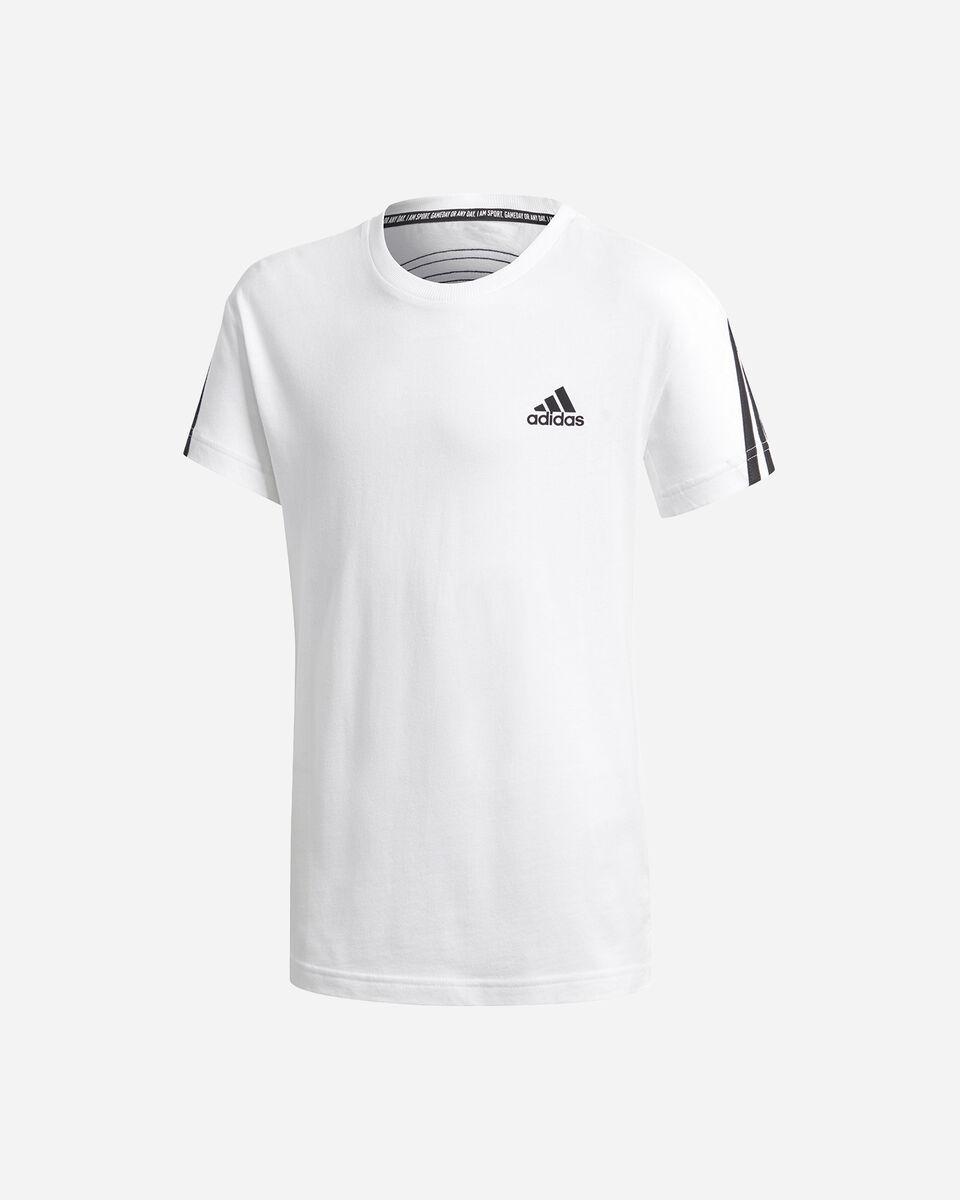 T-Shirt ADIDAS 3 STRIPES JR S5211691 scatto 0