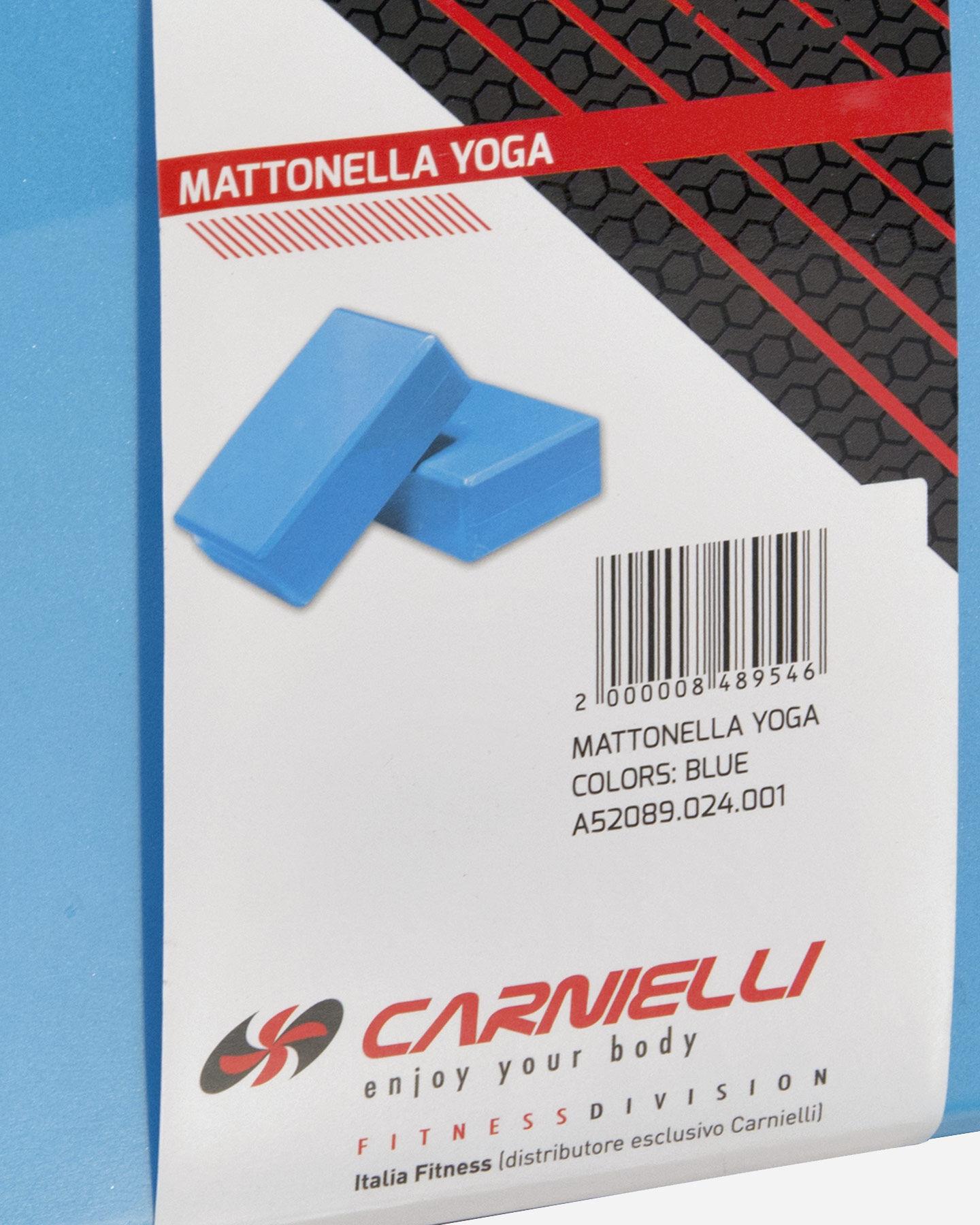 Accessorio palestra CARNIELLI BLOCCO YOGA MATTONELLA S4010936|1|UNI scatto 1