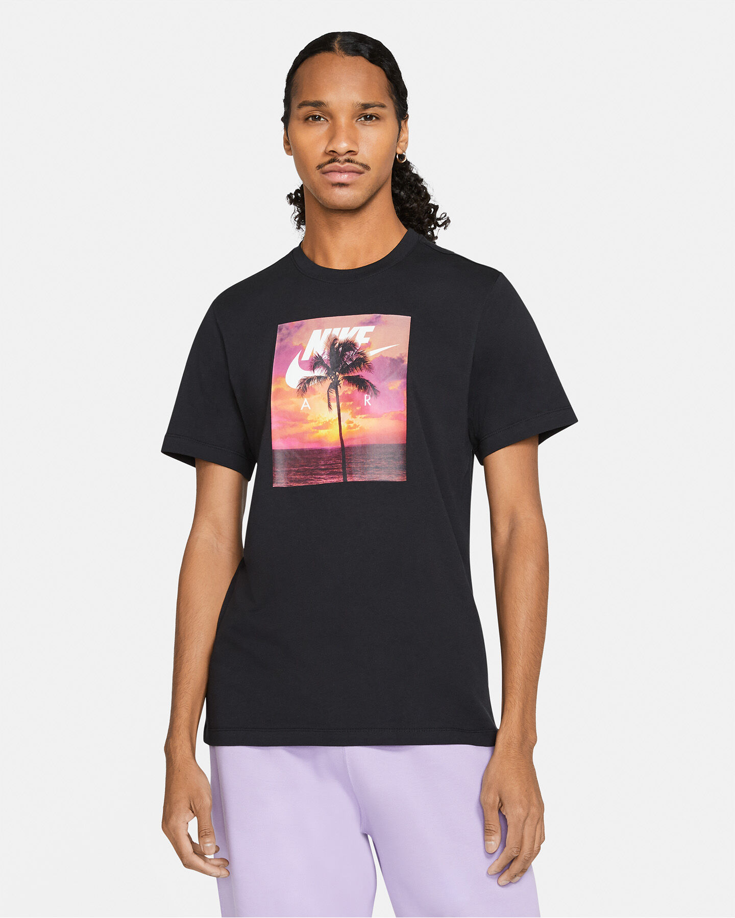 T-Shirt NIKE SPRING PHOTO PALM M S5270121 scatto 0