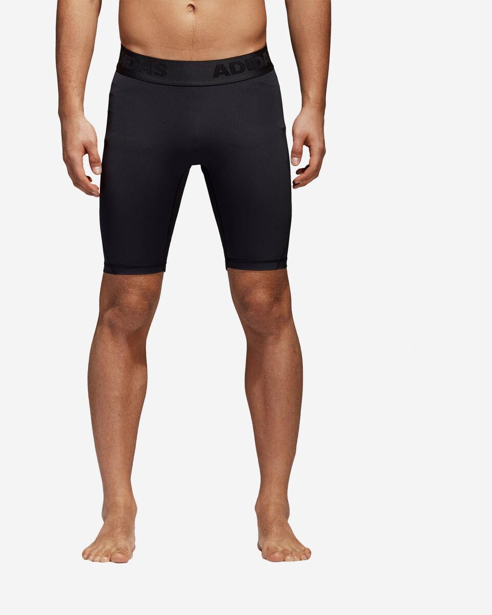 Pantaloncini intimo tecnico ADIDAS ALPHASKIN SPRT TIGHT SHORT TIGHT M S4033462 scatto 1
