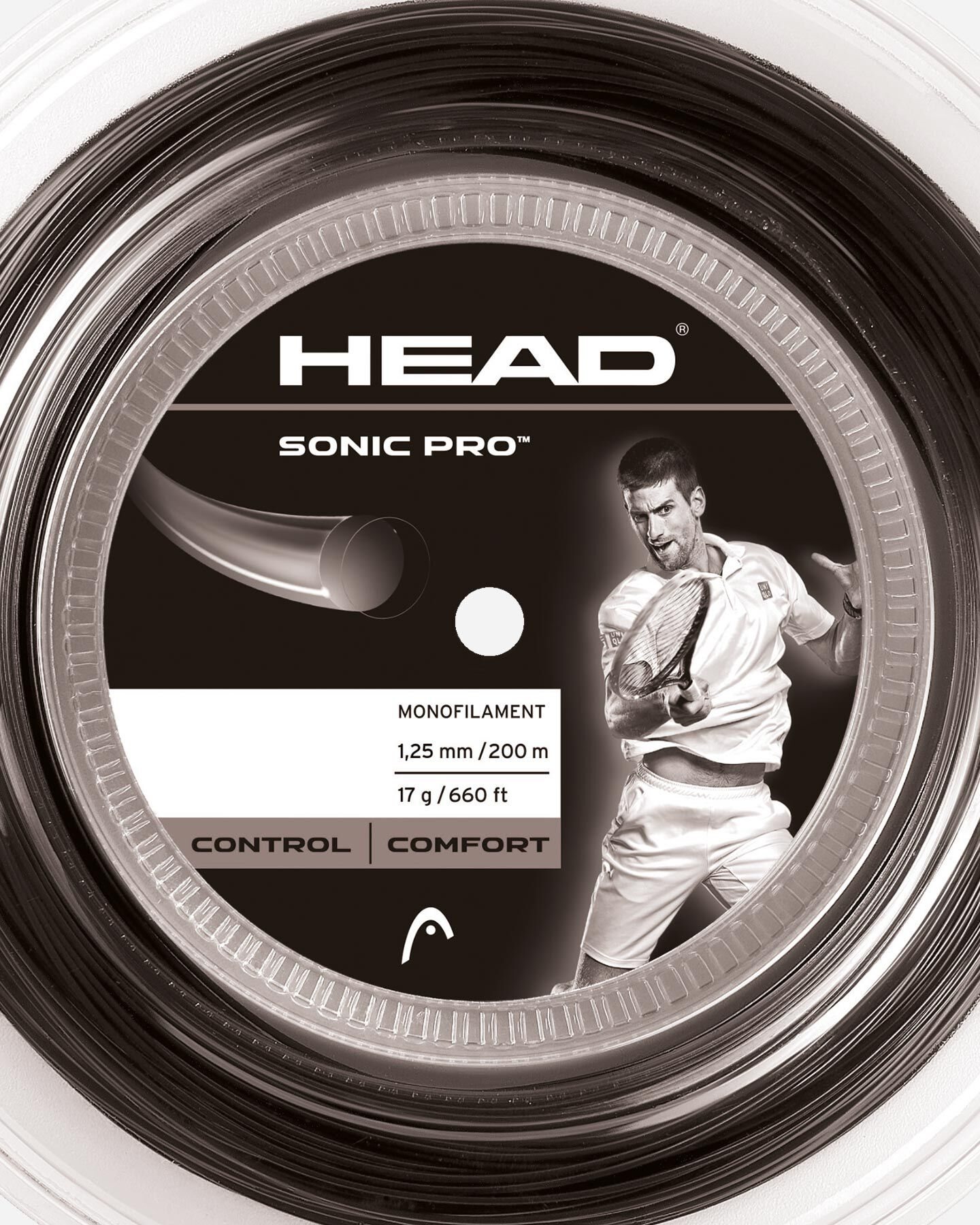 Corde tennis HEAD SONIC PRO REEL S0704054 scatto 1