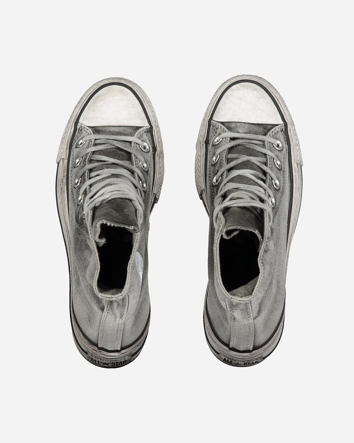 Scarpe sneakers CONVERSE CHUCK TAYLOR ALL STAR SMOKED HIGH W S4075386 scatto 3