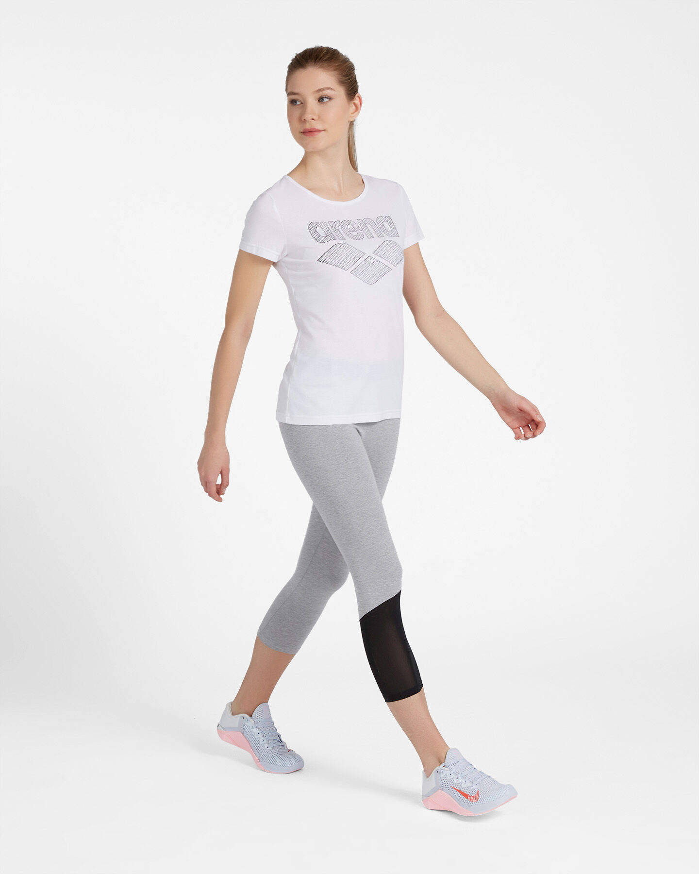 T-Shirt training ARENA DRIFIT BLOGO  W S4087306 scatto 3