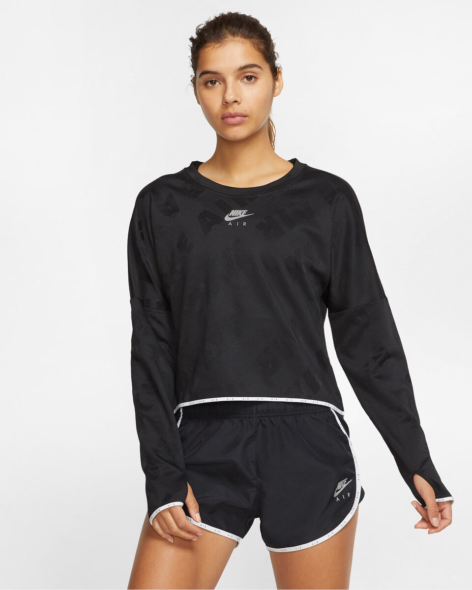 Maglia running NIKE AIR MIDLAYER W S5163970 scatto 2