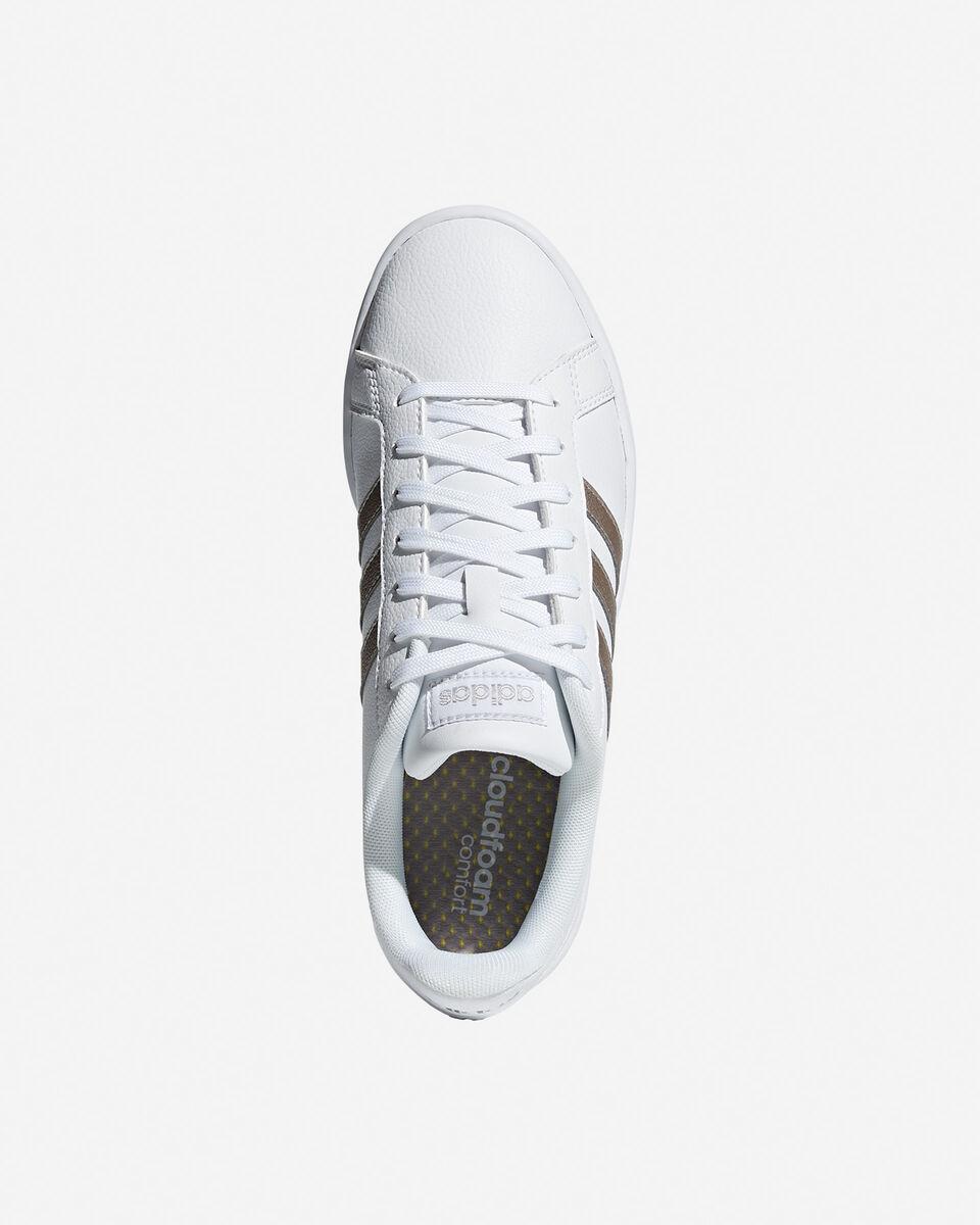 Scarpe sneakers ADIDAS CORE GRAND COURT W S2013642 scatto 2