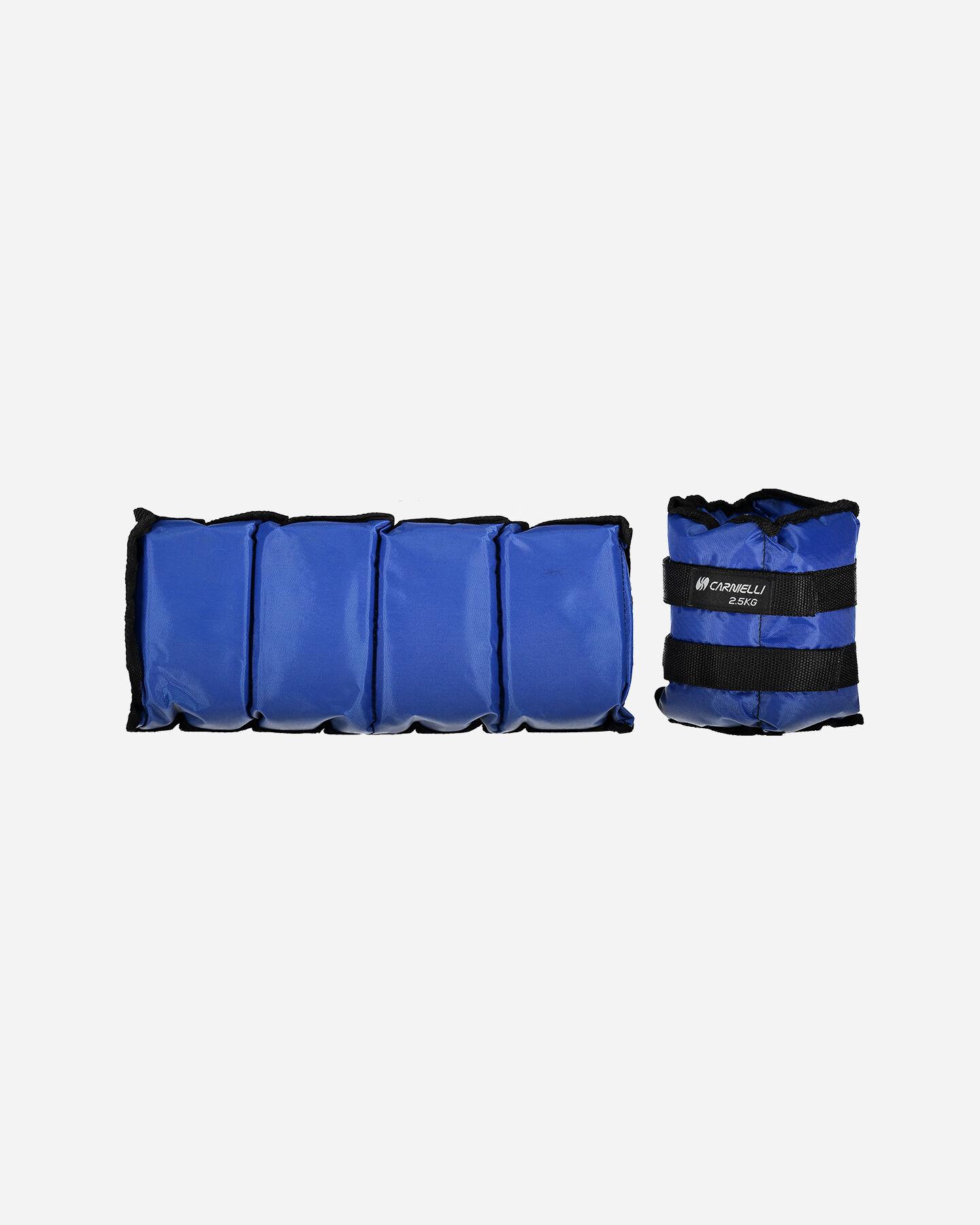 Accessorio pesistica CARNIELLI CAVIGLIERE 2,5 KG S1328749|1|UNI scatto 0