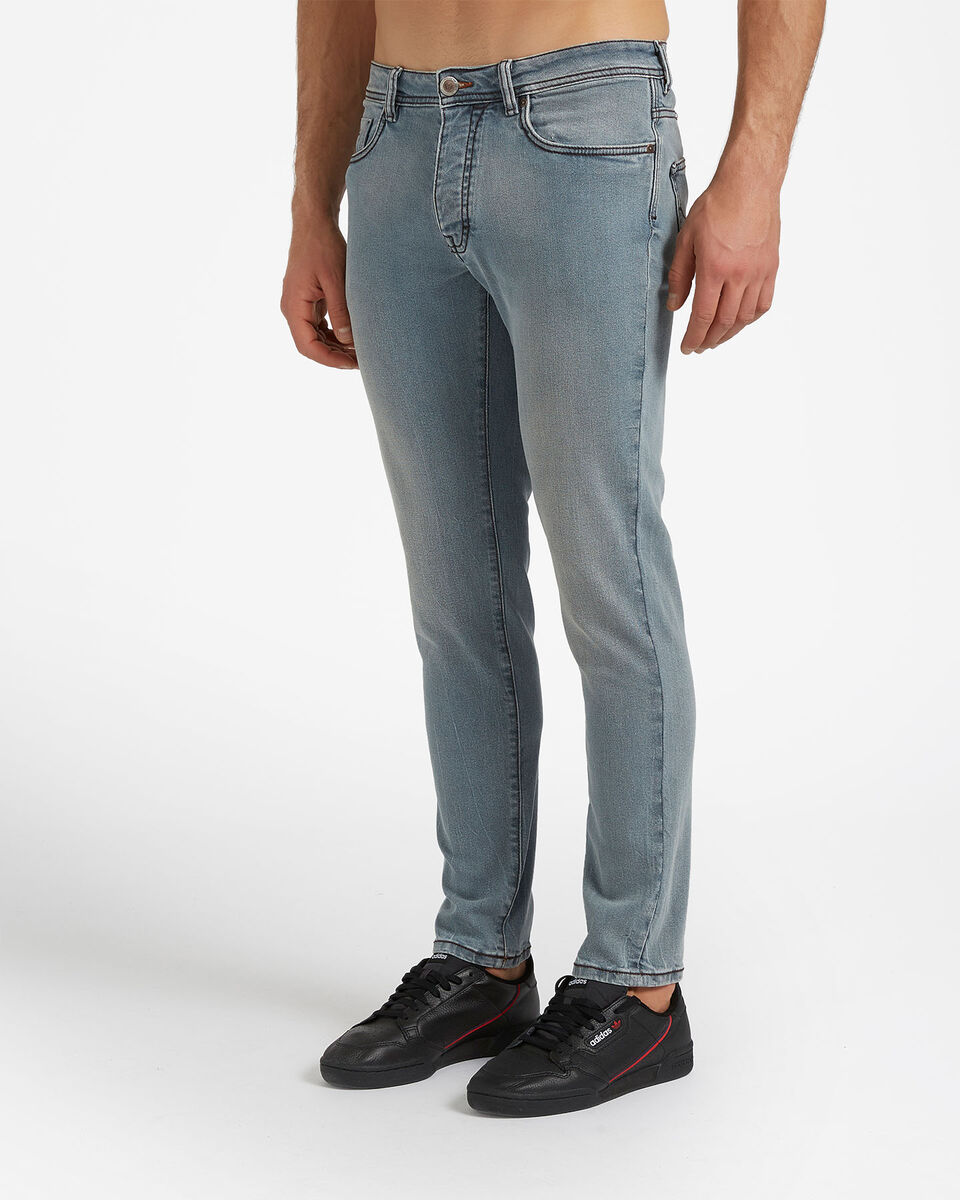 Jeans COTTON BELT 5TS SLIM M S4076651 scatto 2