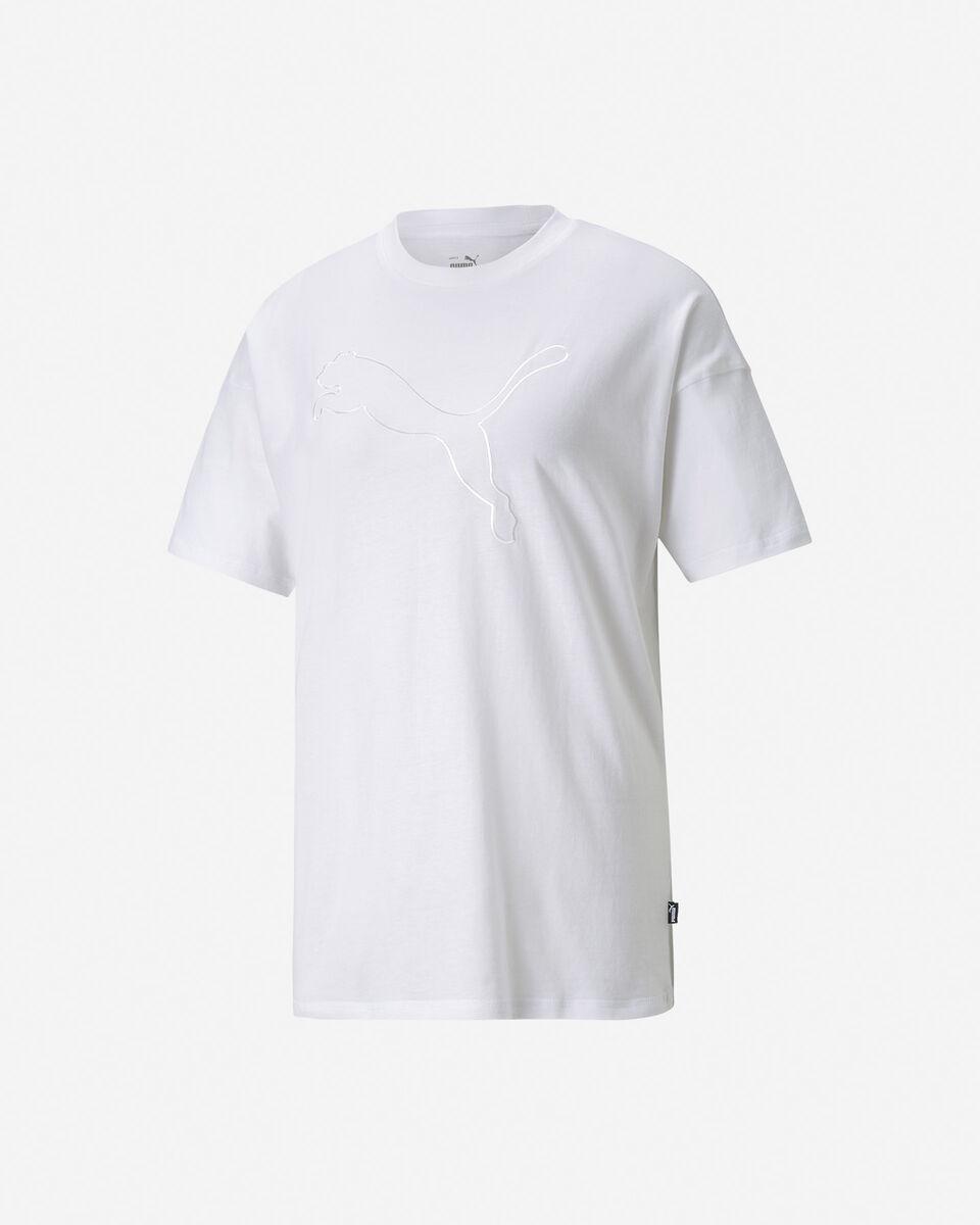 T-Shirt PUMA BLOGO CAT W S5334304 scatto 0