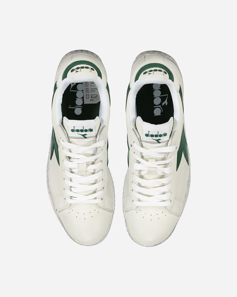 Scarpe sneakers DIADORA GAME LOW WAXED M S4025477 scatto 2