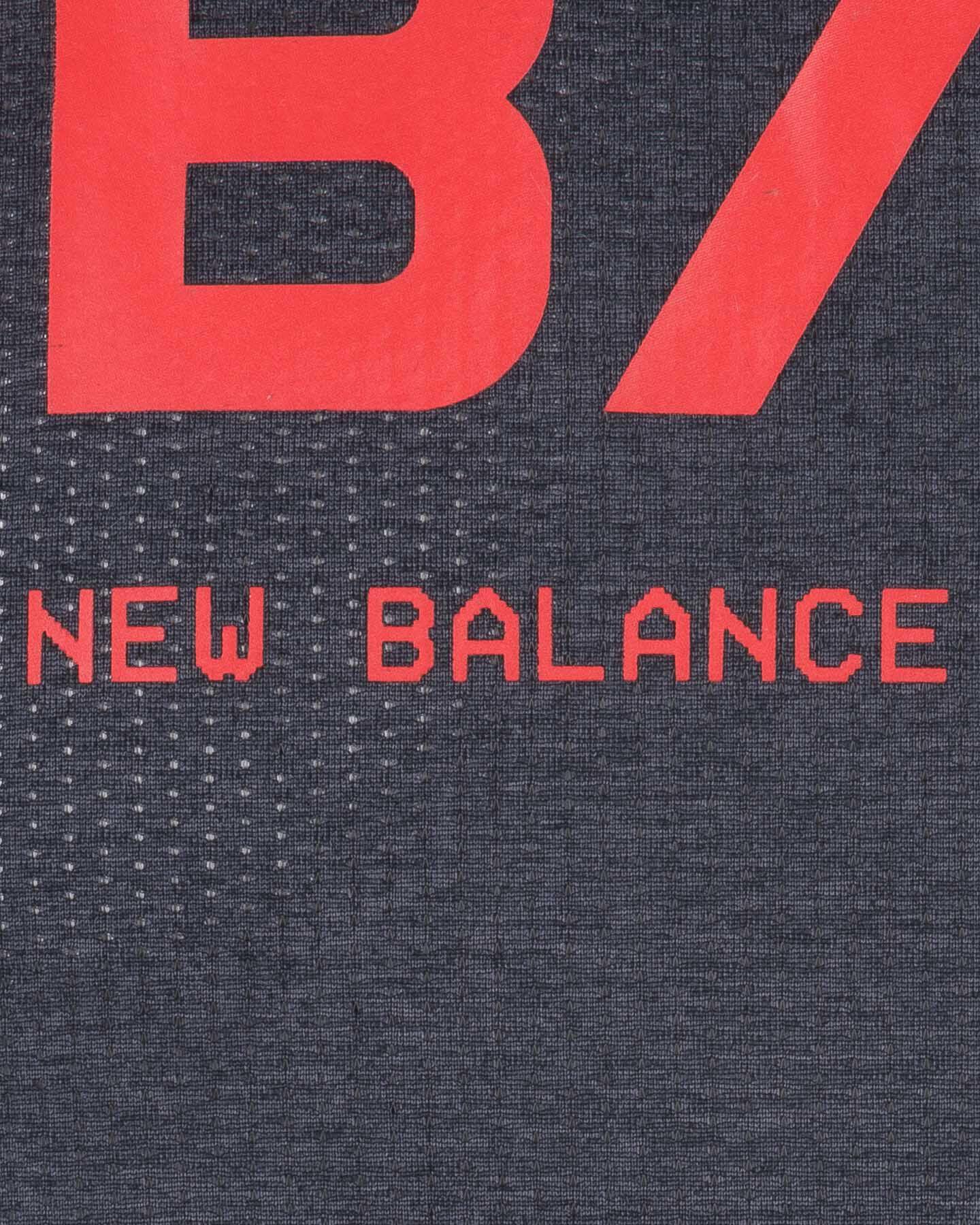 T-Shirt running NEW BALANCE PRINTED IMPACT RUN M S5166295 scatto 2