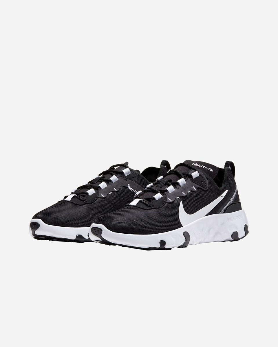 Scarpe sneakers NIKE RENEW ELEMENT 55 JR GS S5162310 scatto 1
