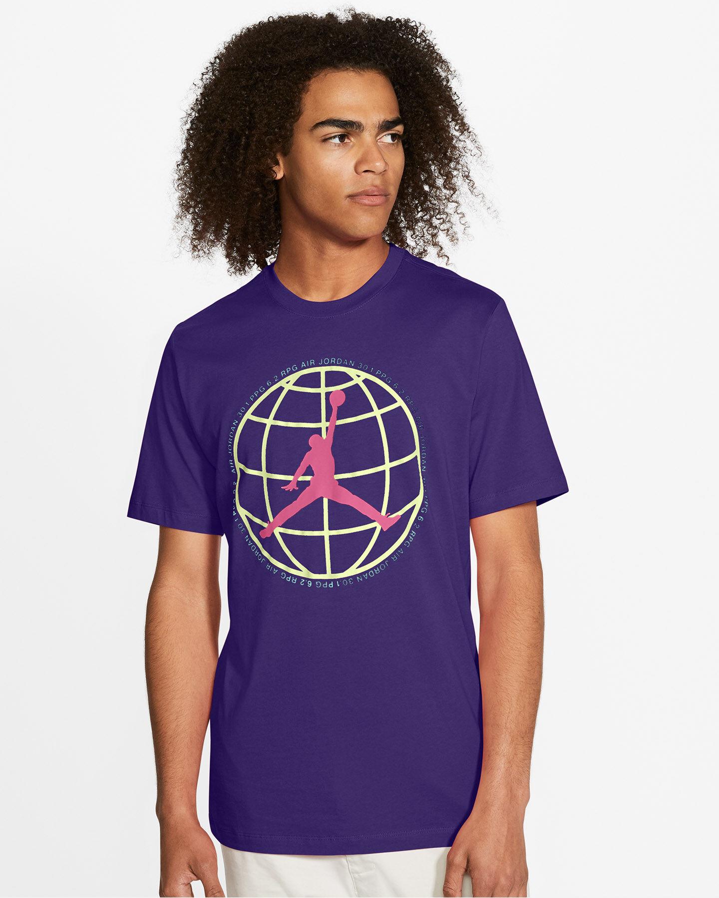 T-Shirt NIKE JORDAN JUMPMAN MOUNTAINSIDE M S5247340 scatto 2